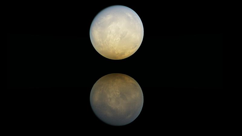 神秘的月亮