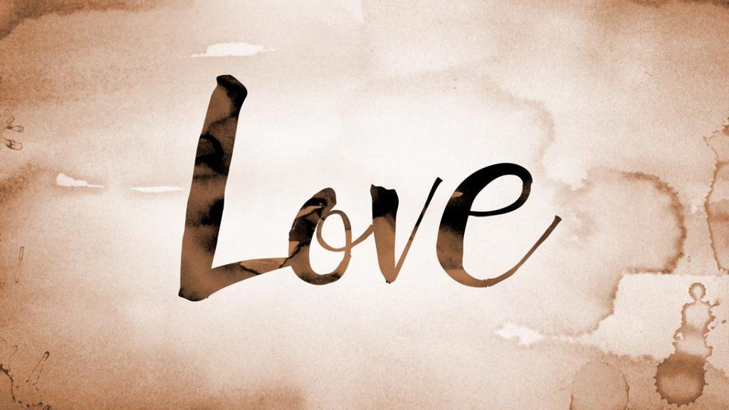 爱意味着给予甜蜜