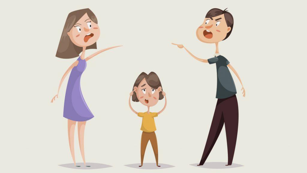 当父母争吵时,你该怎么做?