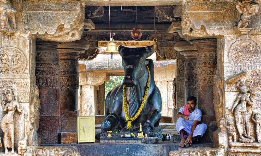 印度寺庙里的神像是如何制成的