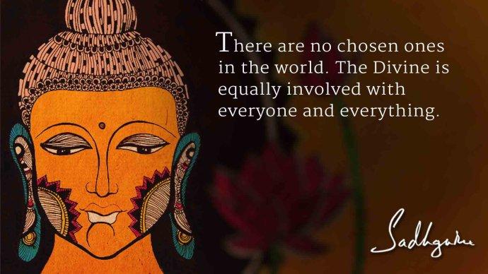 萨古鲁关于佛陀的五句话