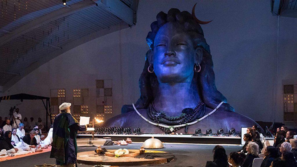 萨古鲁谈美国Isha中心阿迪瑜吉大厅圣化