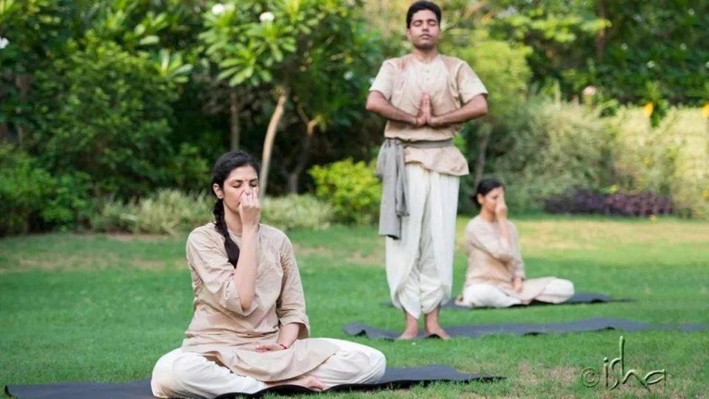 Isha学员分享丨瑜伽合十礼的力量