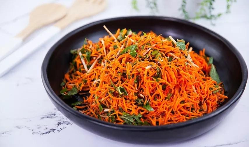 瑜伽练习者食谱丨胡萝卜沙拉