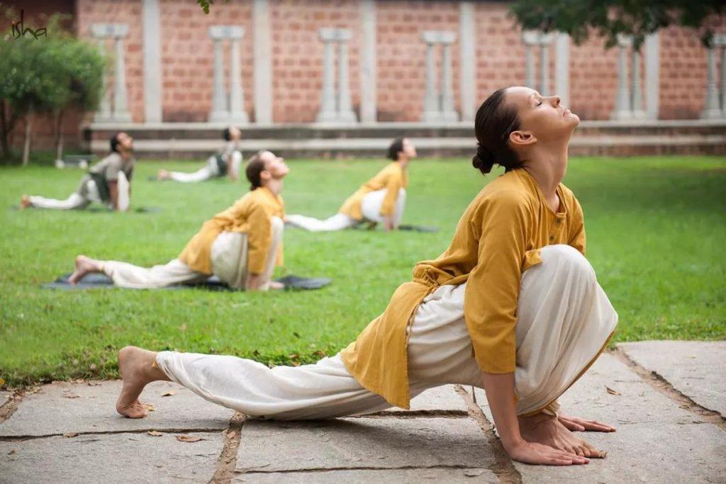 Isha学员分享丨两个孩子妈妈的瑜伽日记