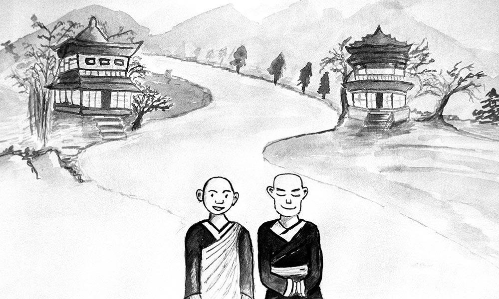 一个禅宗故事丨成为你所处情形的一面镜子