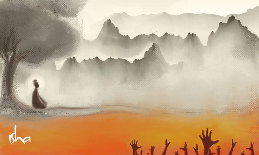 一个禅宗故事丨佛陀会拯救他么?