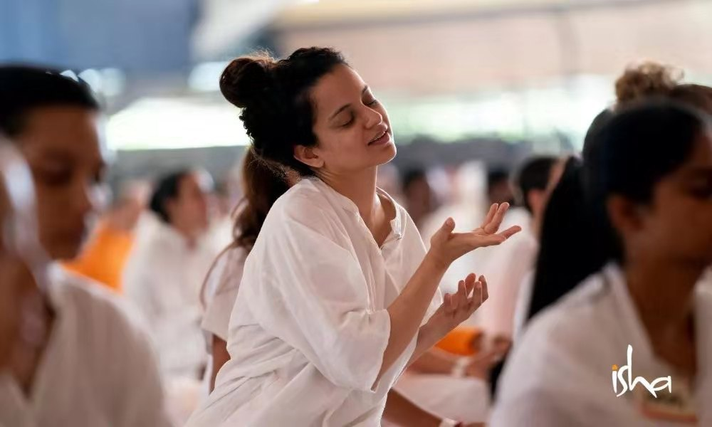 Kangana Ranaut分享她在Isha的经历