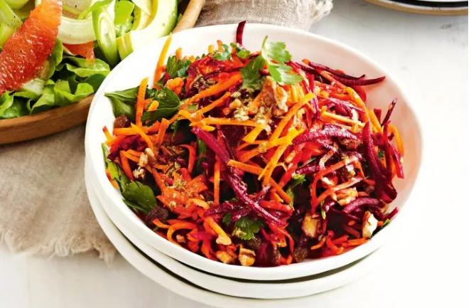 瑜伽练习者食谱丨甜菜根沙拉
