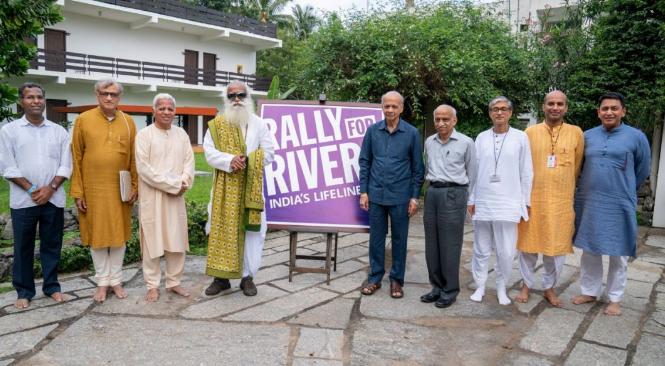 高韦里河的呼唤丨河流拯救行动委员会来访Isha瑜伽中心