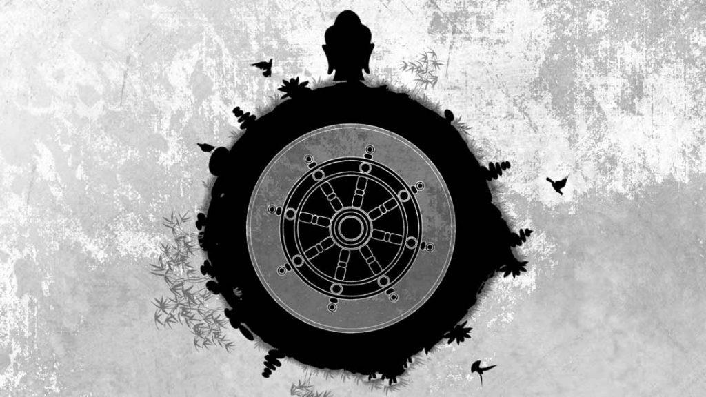 释迦摩尼与佛法之轮