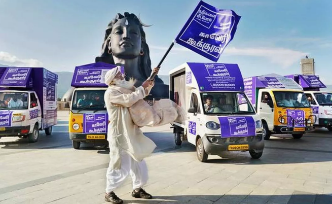 萨古鲁:解除印度水危机