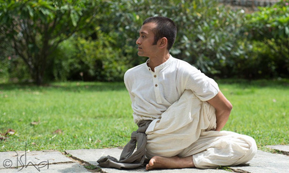 练习体式时身体的灵活性