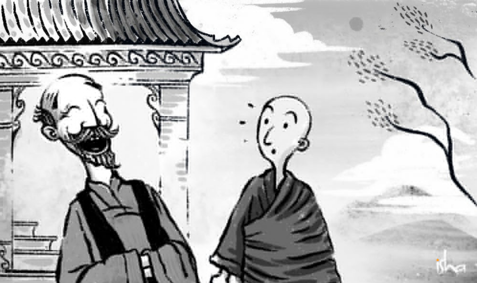 禅宗故事丨笑与开悟