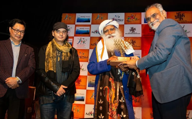 Isha简讯丨萨古鲁在Kathakaar国际故事节