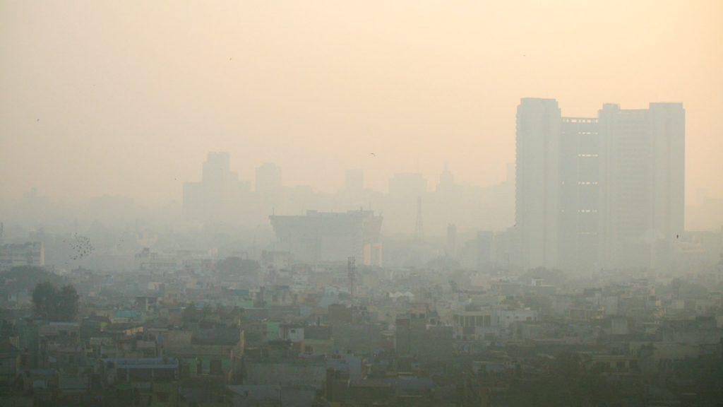 轻松呼吸——瑜伽呼吸法与城市污染