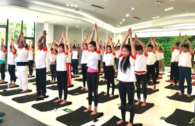 Isha瑜伽携手印度领事馆,迈入中国企业