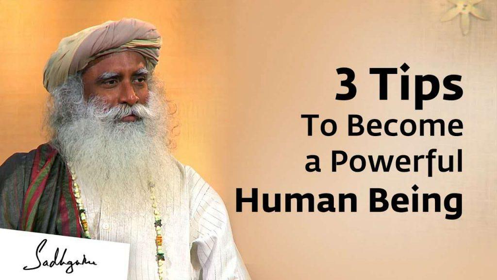 萨古鲁:三个新年工具,让你成为一个有力量的人类