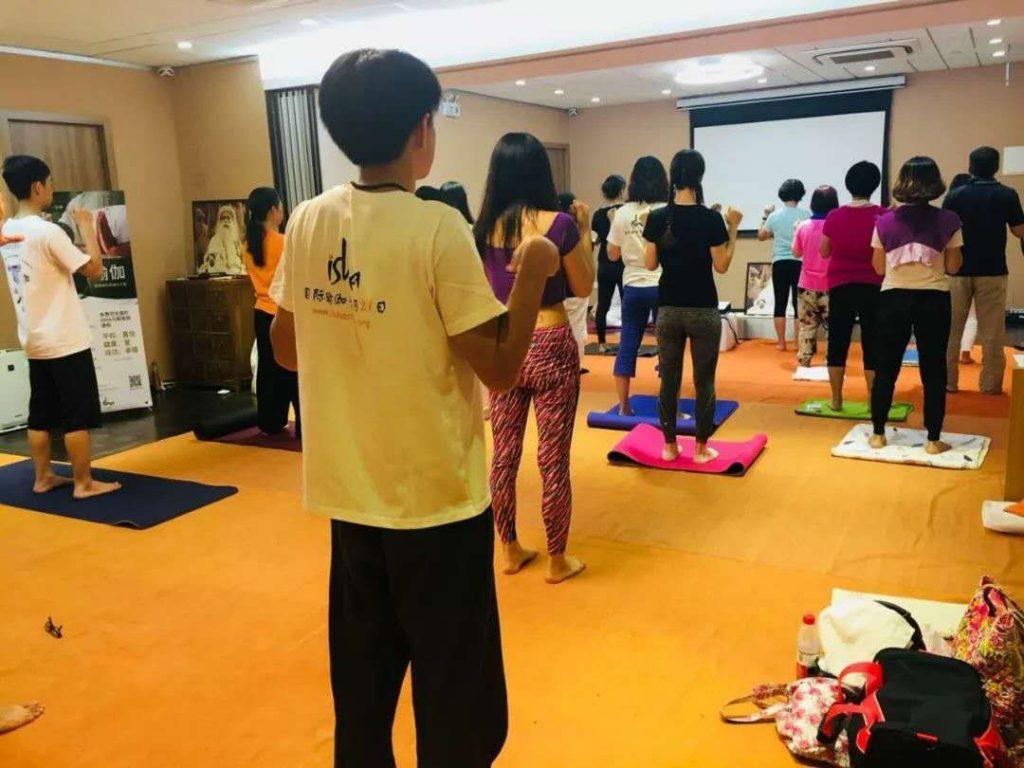 国际瑜伽日分享——广州