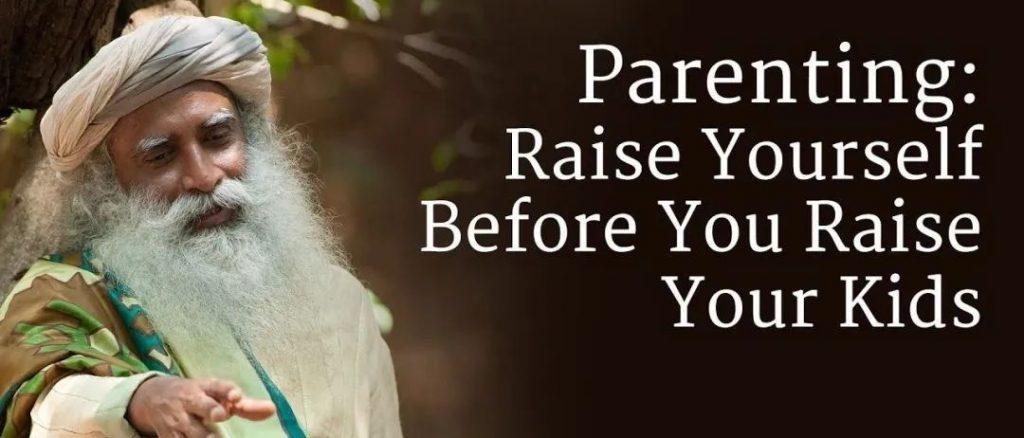 抚养孩子前先抚养自己