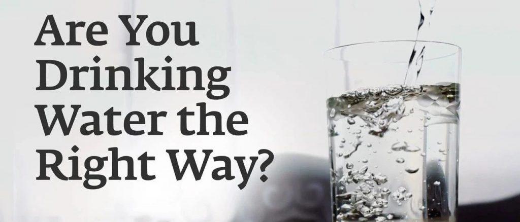 你喝水的方式正确吗?