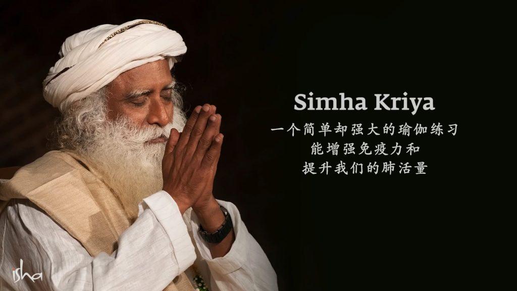 Simha克里亚——一个提高免疫力的简单而强大的瑜伽练习