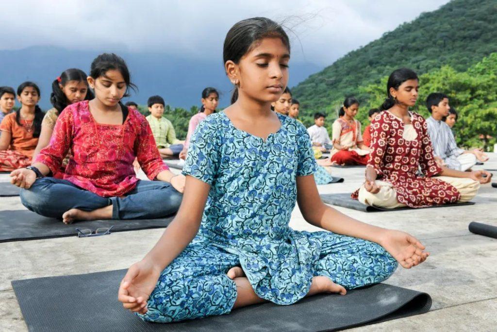 为什么孩子要练习瑜伽?