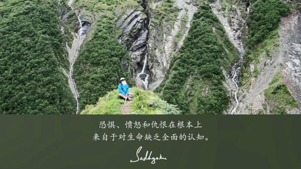 萨古鲁:一旦我们在经验上知道我们存在的本质,生命便是喜悦的