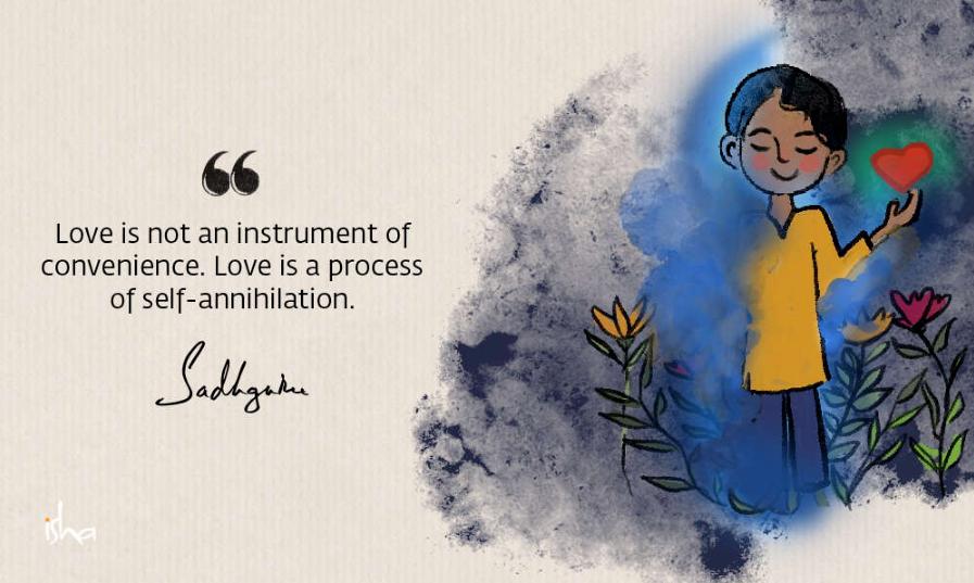 为爱带来崭新的视角——21条来自萨古鲁的爱的语录