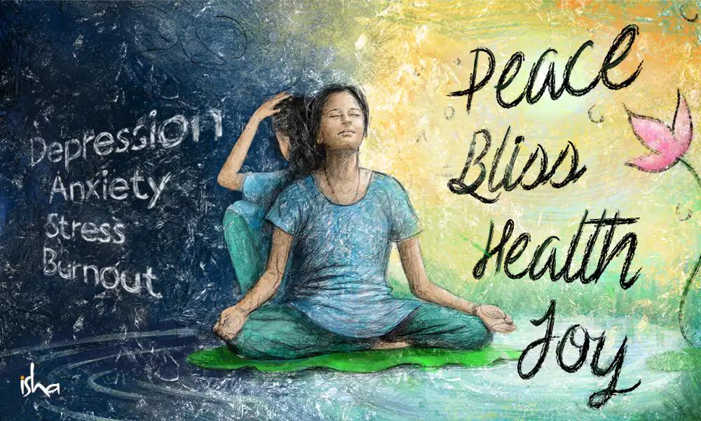 瑜伽对心理健康的巨大好处