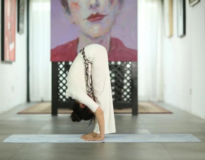 """""""瑜伽让我的生命变得越来越美好"""""""